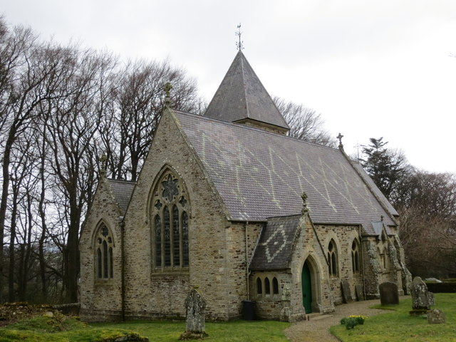 The Church of St James in Hunstanworth