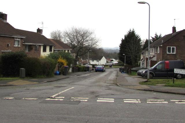 Mynydd Maen Road, Upper Cwmbran