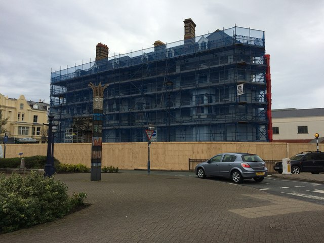 Work on the former Tudno Castle Hotel has started in earnest
