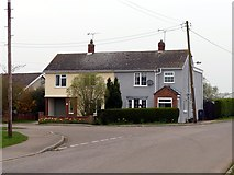 SK8875 : Cottages on Sykes Lane by Graham Hogg