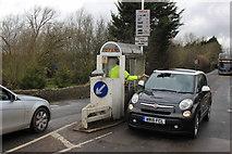 SP4408 : Collecting the Tolls on Swinford Bridge by Nigel Mykura
