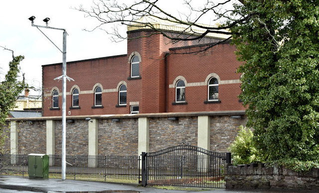 Former Ballynafeigh police station, Belfast - March 2017(1)