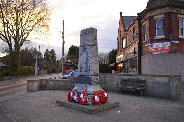 War Memorial, Rowlands Gill