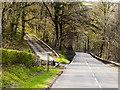 SO0744 : A470 at Tra-gaer Bridge by David Dixon
