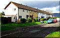 ST3093 : Court Farm Close houses, Llantarnam, Cwmbran by Jaggery