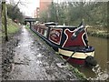 SJ8762 : 'Cousin Jack' moored on the Macclesfield Canal by Jonathan Hutchins