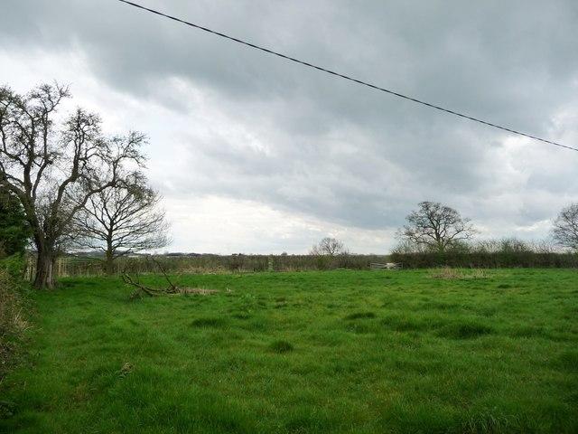 Dark clouds at Higher Farm