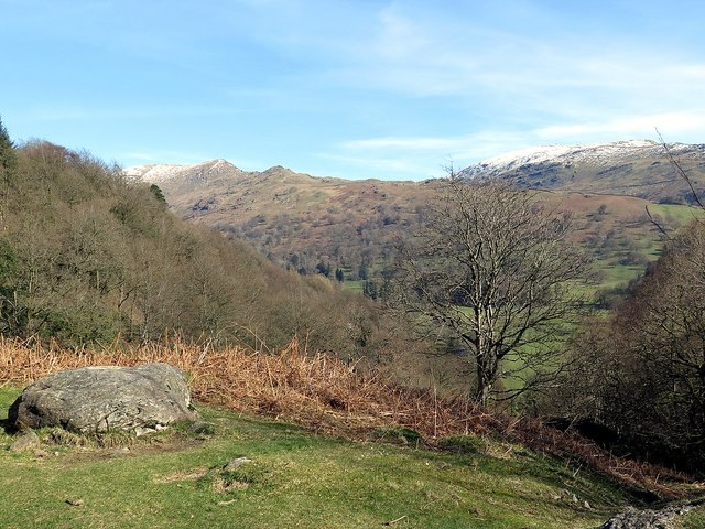 Path east of Loughrigg