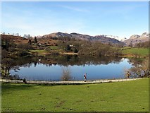 NY3404 : Loughrigg Tarn from the east by Andrew Curtis