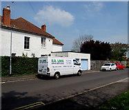 ST3050 : A.R.Lane Drain Services van, Shelley Drive, Burnham-on-Sea by Jaggery