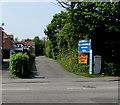 ST3050 : Retreat Caravan Park entrance, Burnham-on-Sea by Jaggery