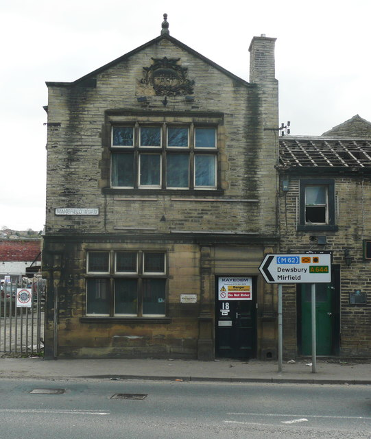 7d591c50 The Lodge, Wakefield Road, Brighouse © Humphrey Bolton :: Geograph ...