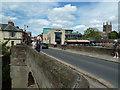 SO5039 : Wye Bridge, Hereford by Chris Allen