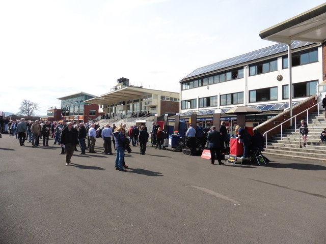 The Grandstands at Taunton Racecourse