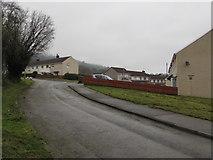 ST2896 : Up Mynydd Maen Road, West Pontnewydd, Cwmbran by Jaggery