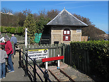 TA0390 : North Bay Railway ticket office by Stephen Craven