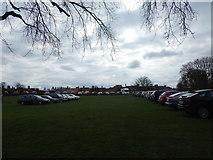 TM2863 : Castle Meadow, Framlingham by Hamish Griffin