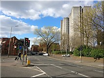 SK5803 : De Montfort House and Oxford Street, Leicester by Mat Fascione