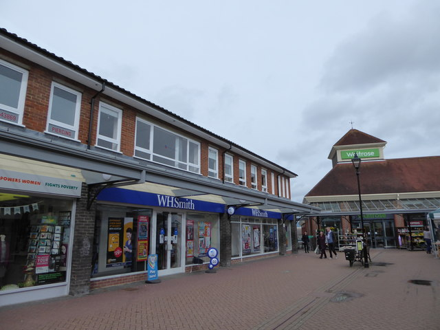 Shops in Hailsham town centre