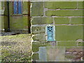 SP1192 : OS Flush Bracket - Erdington, St Thomas and St Edmunds Church by Richard Law