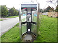 SP7602 : Former KX300 Telephone Kiosk at Henton by David Hillas