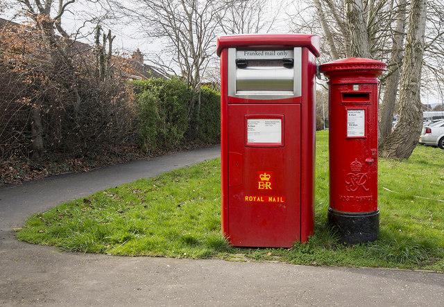Postboxes, Belfast