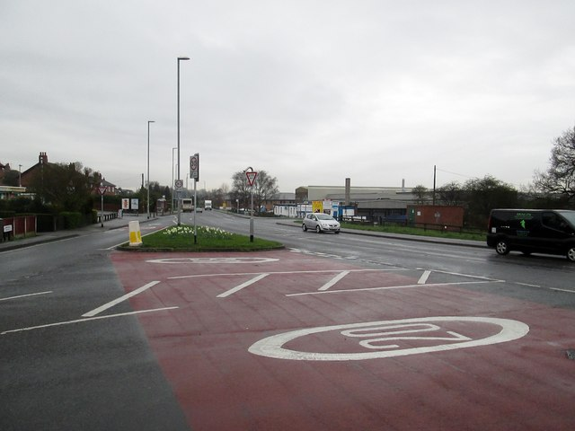 Junction  of  Sturton  Lane  and  A642  Aberford  Road