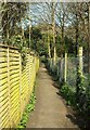 SX8648 : Footpath, Stoke Fleming by Derek Harper