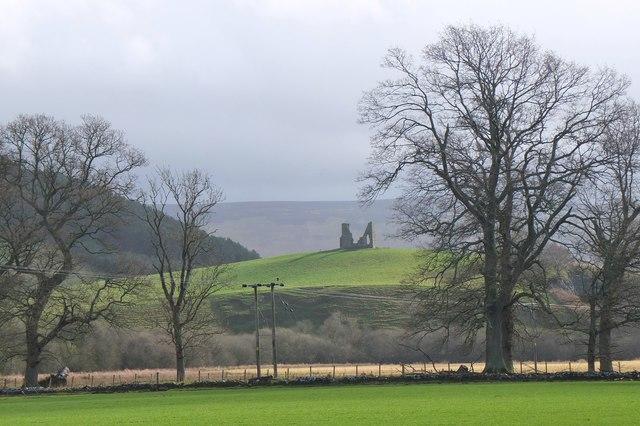 Horsbrugh Castle, Glentress