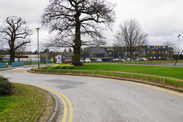 b87f03653d9 Entrance to the Sixth Form College