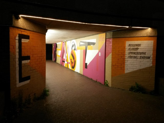 Bournemouth: eastern subway under the Station Roundabout