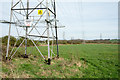 NZ3360 : Multiple electricity transmission lines by Trevor Littlewood