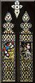 SE7984 : Stained glass window,  Ss Peter & Paul church, Pickering by Julian P Guffogg
