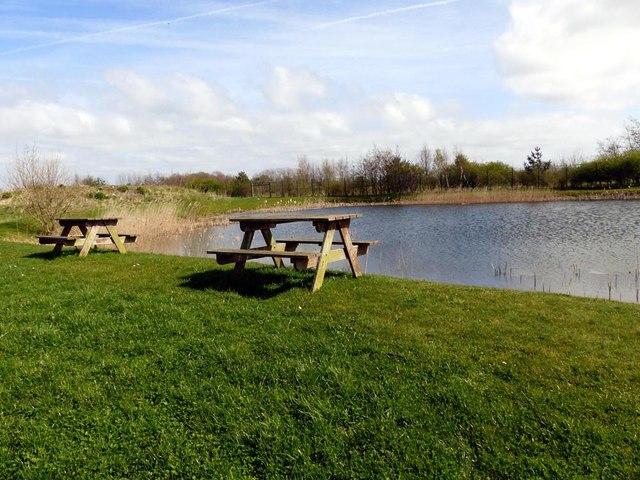 Picnic spot, Merlin Industrial Park