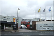 NS6065 : Entrance to Tennent Caledonian Wellpark Brewery by JThomas