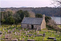 SH5571 : St. Tysilio's church, Church Island, Menai Bridge by Robin Drayton
