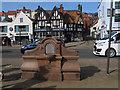 TA0488 : Walker memorial horse trough, Sandside, Scarborough  by Stephen Craven