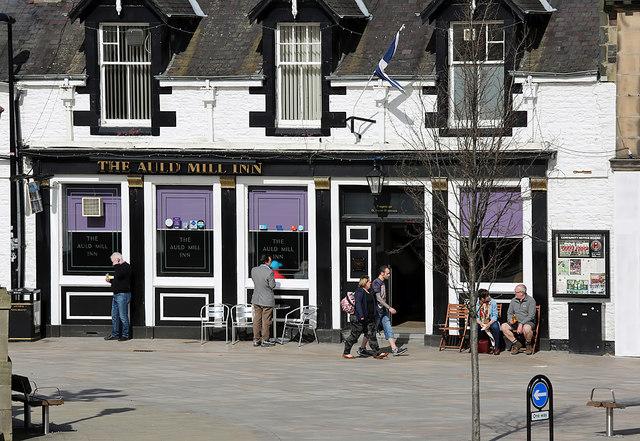 The Auld Mill Inn, Galashiels
