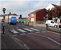 ST3037 : Zebra crossing, Monmouth Street, Bridgwater by Jaggery