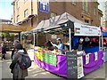 TQ2981 : Fitzrovia food stalls by Paul Harrop