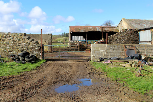 Outbuildings at West Charity Farm
