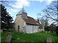 TQ5503 : St. Peter ad Vincula church, Folkington by PAUL FARMER