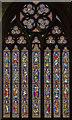 TA1767 : East window, Bridlington Priory by Julian P Guffogg