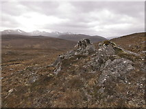 NH2850 : Trackless terrain of the Strathconon Forest by Julian Paren
