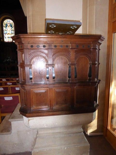 Inside All Saints, Crowborough (B)