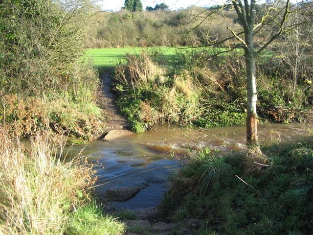 Canley Brook after rain
