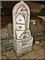 ST1776 : Milepost, Cardiff by MilestoneSociety