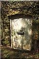 SX8554 : Door in wall, Bramble Torre by Derek Harper