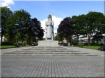 SD8913 : Rochdale War Memorial by Gerald England
