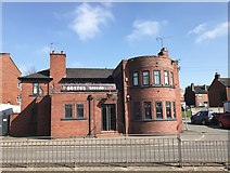 SJ8545 : Former London Road Tavern, Newcastle-under-Lyme by Jonathan Hutchins